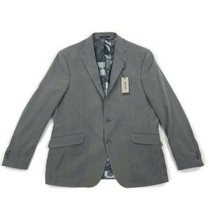Kenneth Cole Reaction Mens Blazer Jacket 2 Button